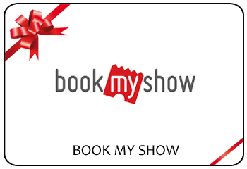 Book My Show Gift Voucher